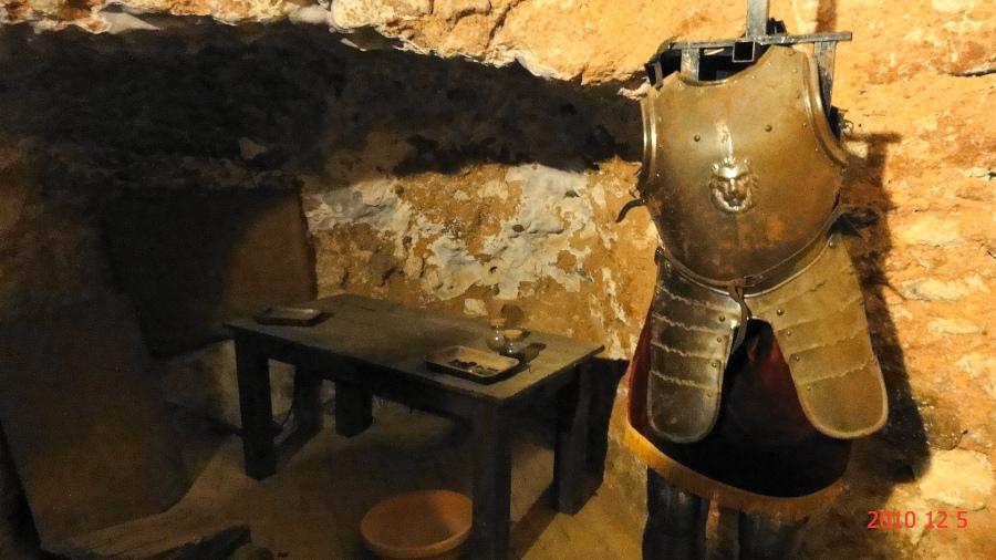 Armadura de un caballero medieval