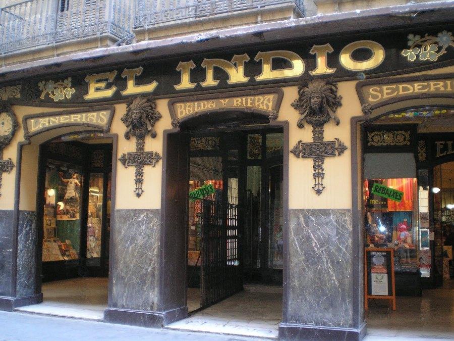 El Indio de Barcelona, botiga de barrio