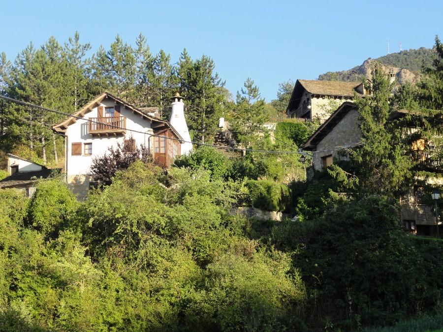 Santa Cruz de la Seros, pueblo pintoresco