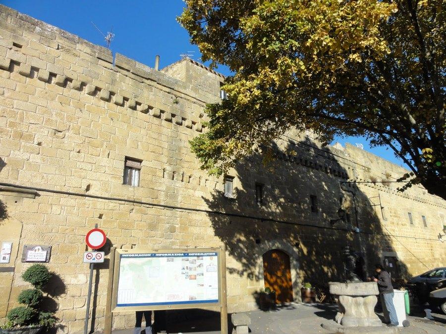 Las murallas de Laguardia