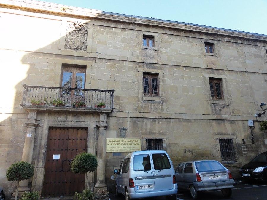 Casa-Palacio de Samaniego en Laguardia