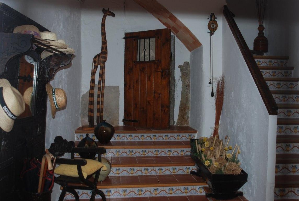 Entrada de una casa particular en Pals