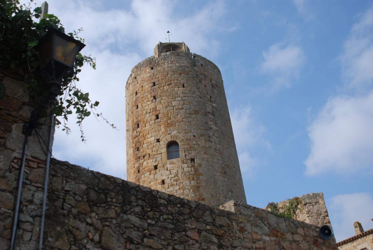 Torre del Homenaje de Pals