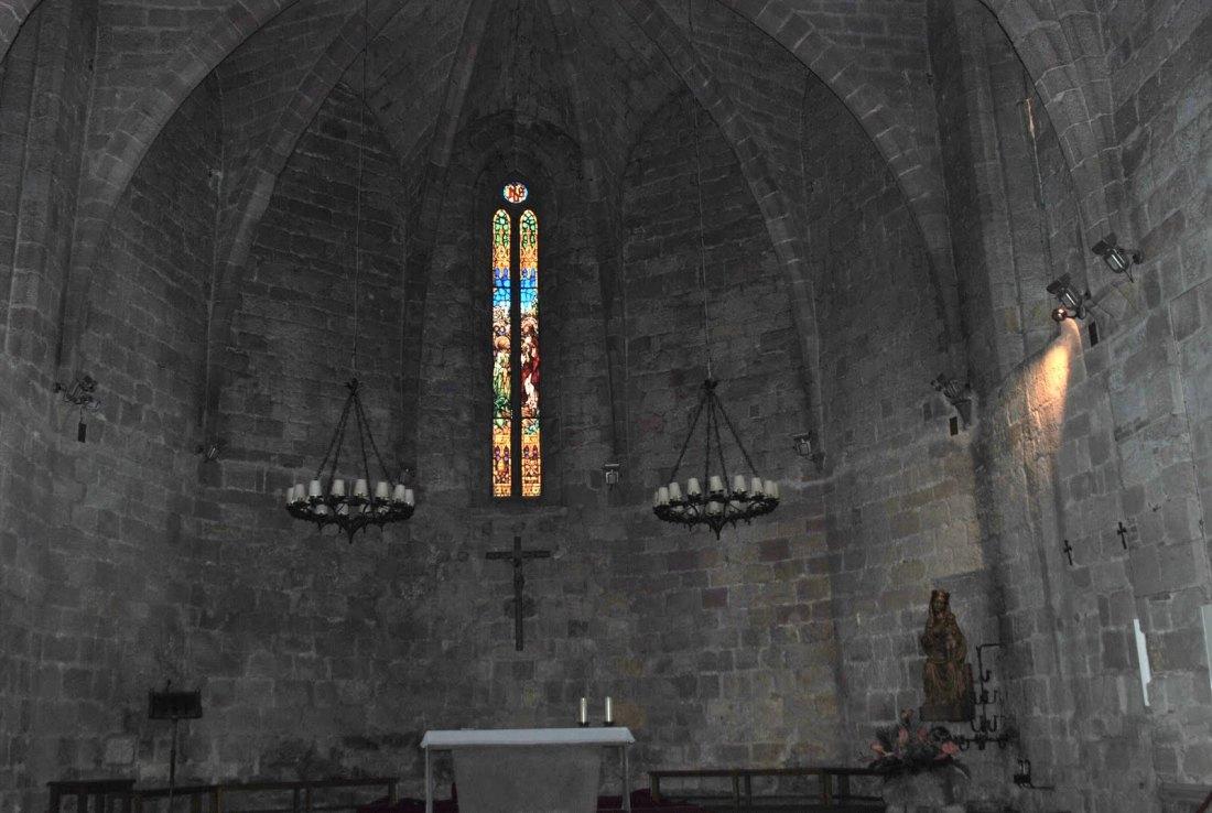 Abside de la Iglesia de Pals