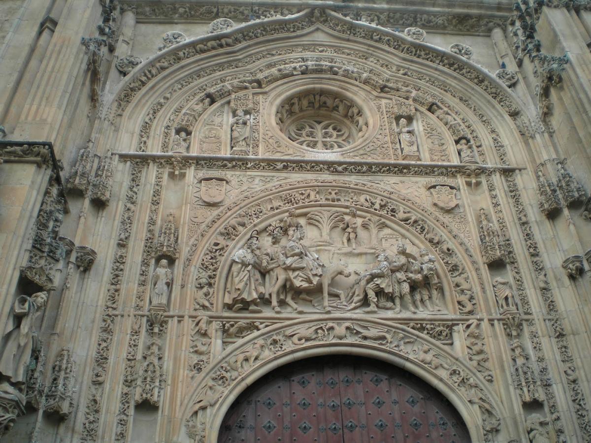 Puerta de ramos catedral de salamanca fotos pueblos for Puertas salamanca