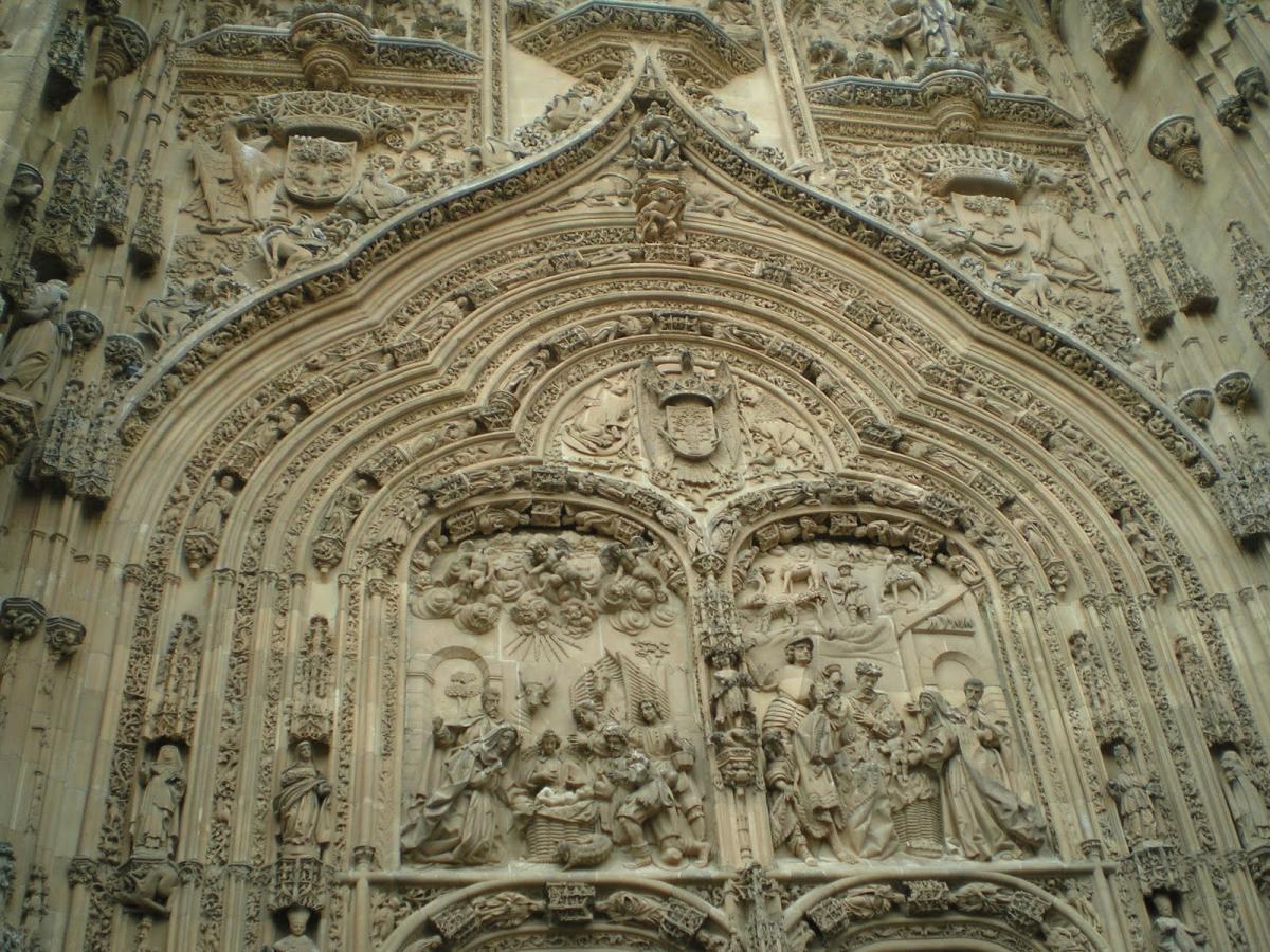 Fachada Principal Catedral Nueva de Salamanca
