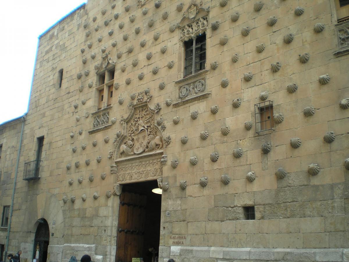 """Palacio Maldonado """"Casa de las Conchas"""" de Salamanca"""