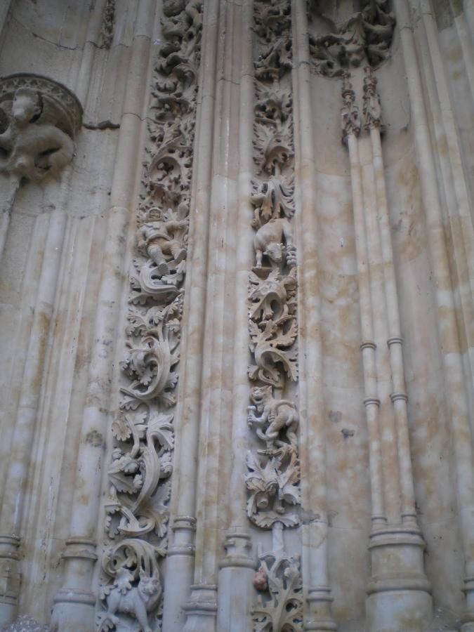 Iconografía fachada Caatedral de Salamanca