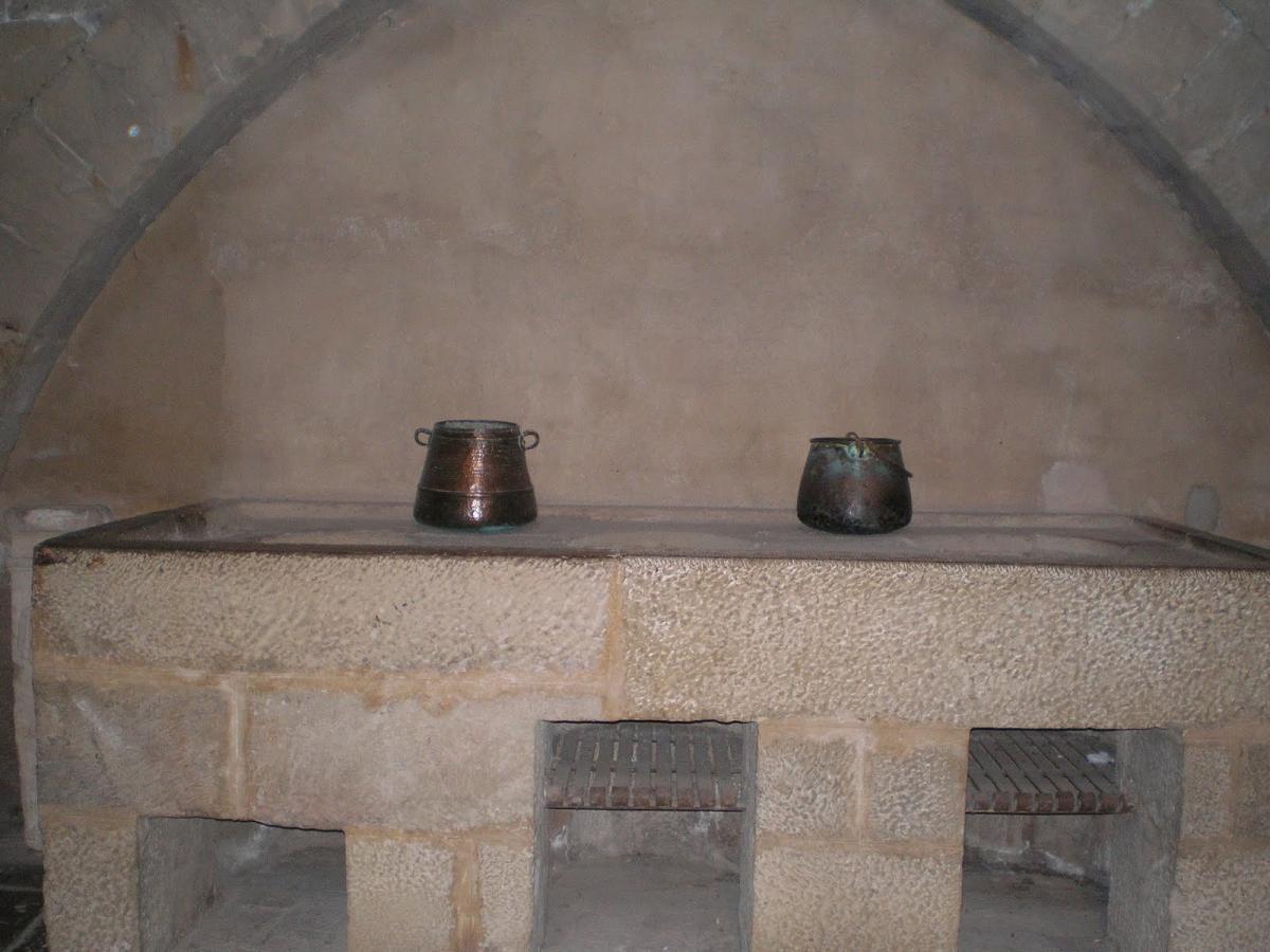 Cocina del Monasterio de Poblet