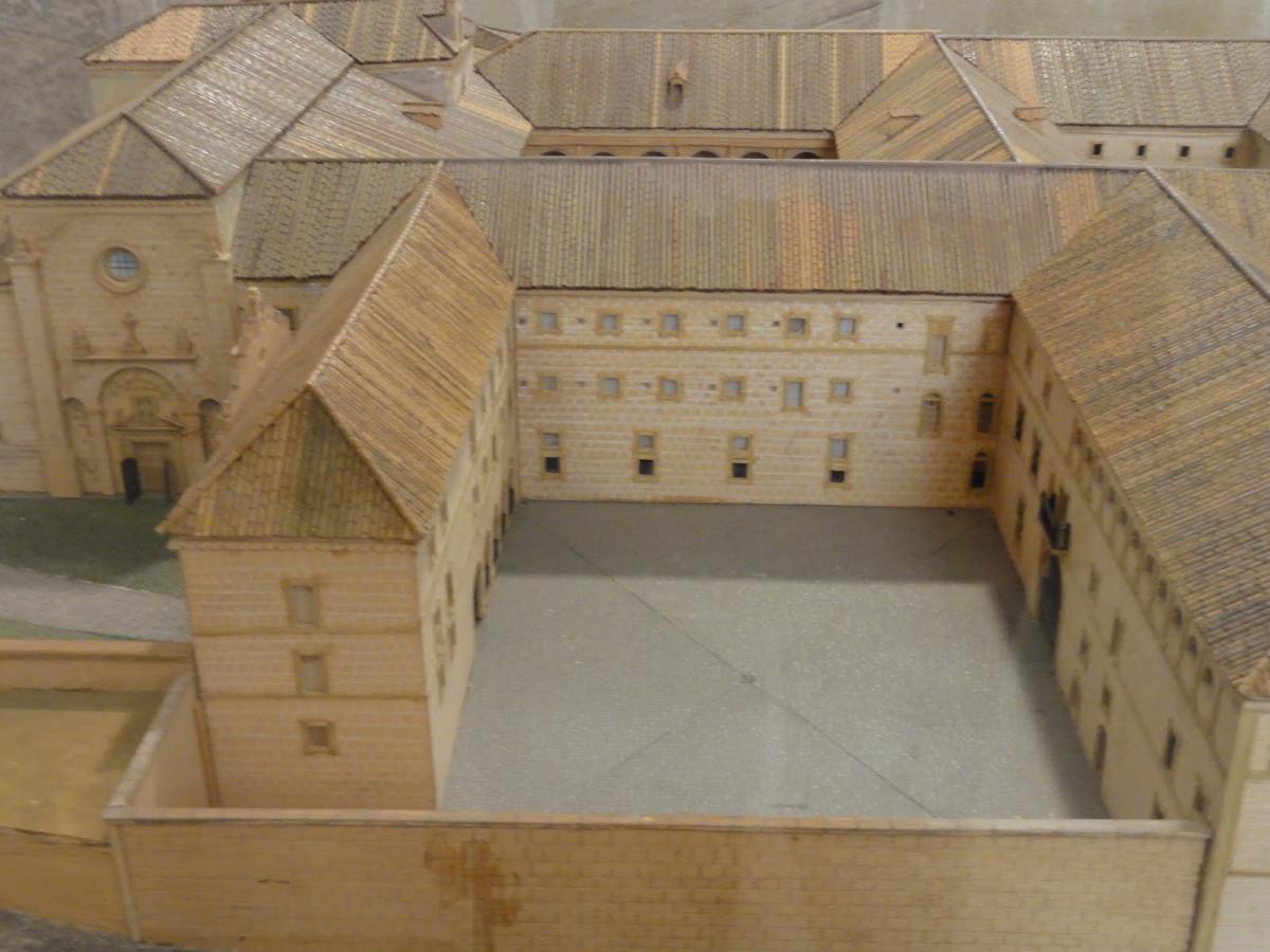 Maqueta del monasterio de Yuso