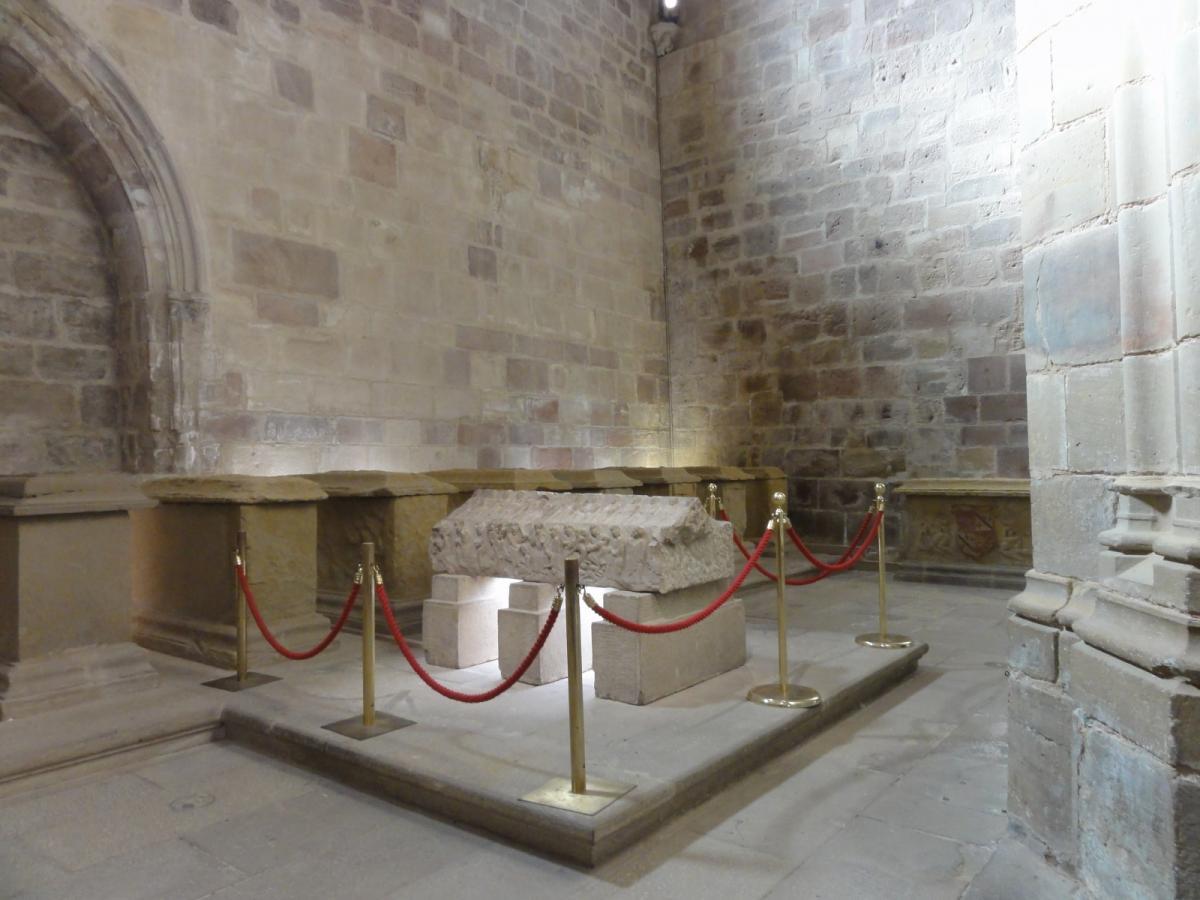 Doña Blanca de Navarra en Nájera