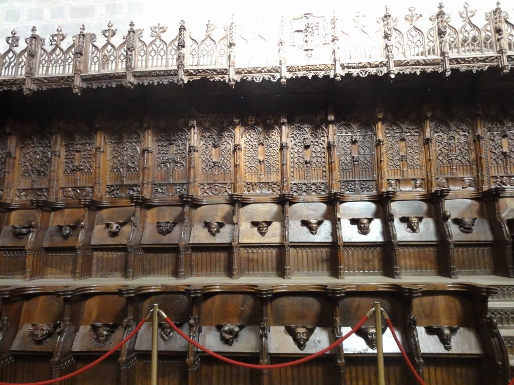 Sillería del Coro de Santa María la Real