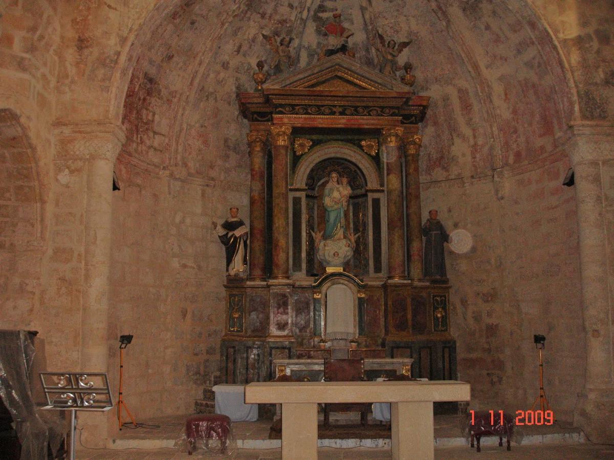 Interior San Salvador de Horta de Sant Joan