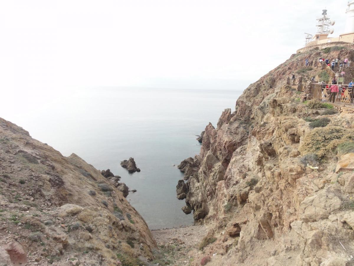 Acantilado del Cabo de Gata
