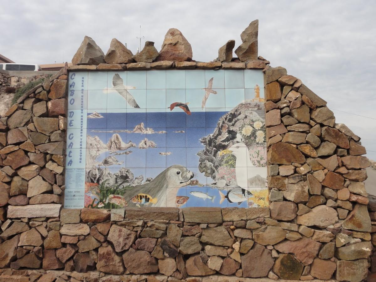Mirador de la Sirena en el Cabo de Gata