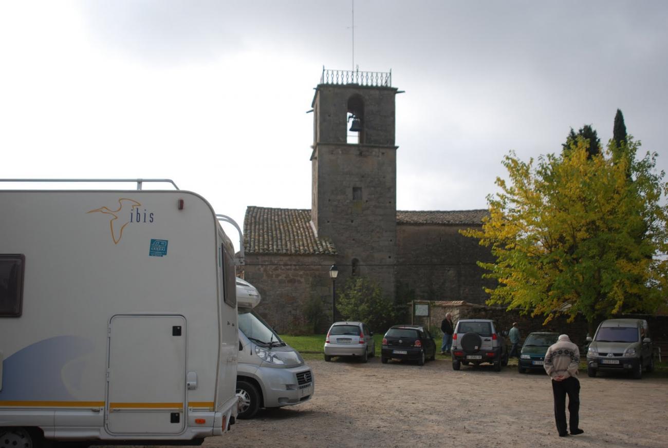 Torre campanario Santa Maria de Lluçà
