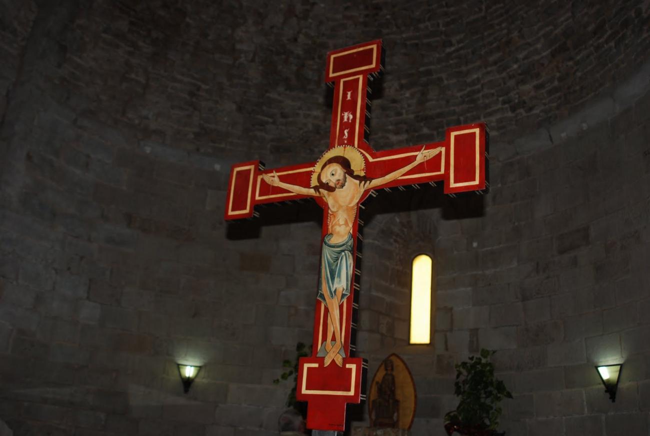 El Crucificado de Santa Maria de Lluçà
