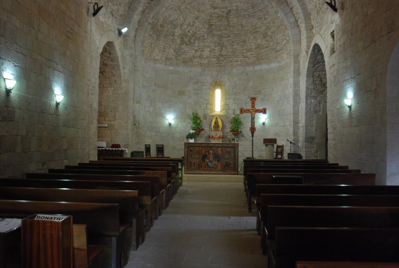 Románico Catalán: Santa Maria de Lluçà
