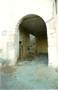 Portal d'Agost en el Barri Medieval de Bocairent