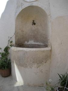 Fonteta de L'Aljub en el Barri Medieval de Bocairent