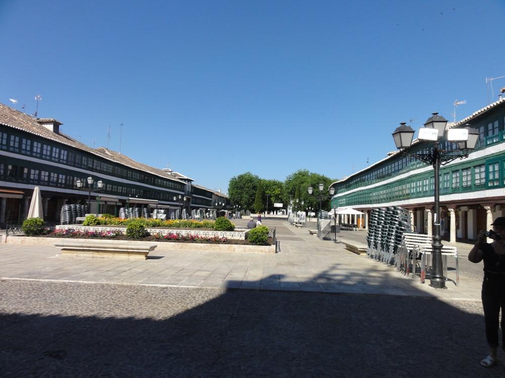 plaza de Almagro, galerias