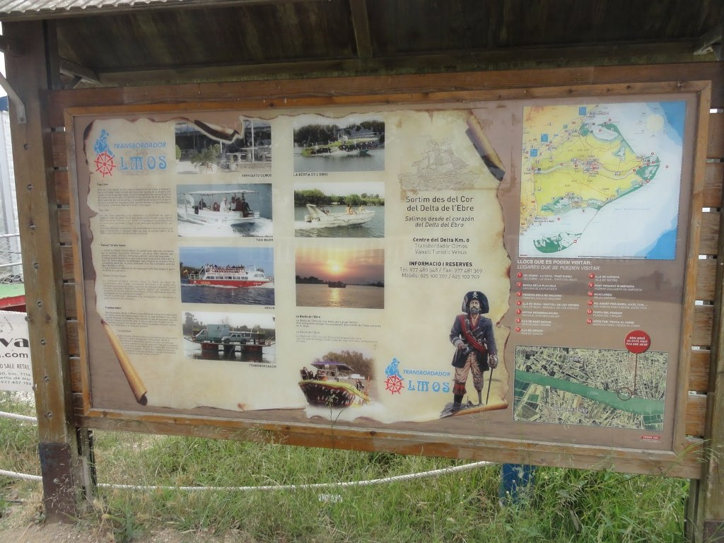 Recorrido Delta del Ebro