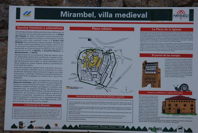 Mirambel villa medieval