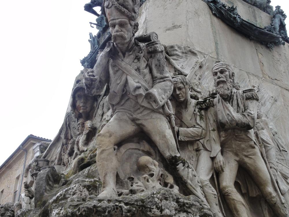 Vitoria-Gasteiz, detalle escultorico