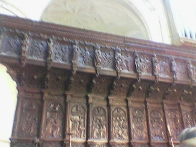 Burgos, el Coro de la Catedral