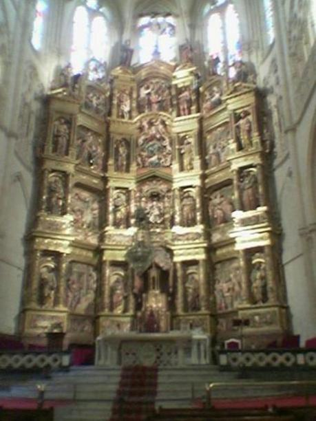 Retablo Mayor de la Catedral de Burgos