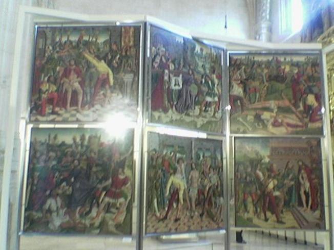 Capillas de San Juan y Santiago Museo catedralicio de Burgos