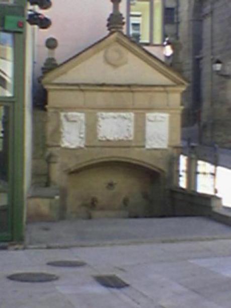 Fuente de los Peregrinos en Logroño