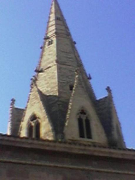 Aguja de la Imperial Santa Maria de Palacio en Logroño