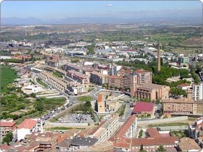 Monzon, segundo pueblo mas grande de Huesca