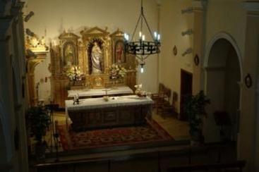 Torres de Alcanadre, iglesia parroquial