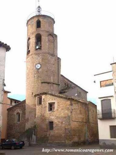 Iglesia parroquial de Torres del Obispo