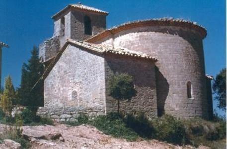 L'església parroquial de Sant Martí de Montclar