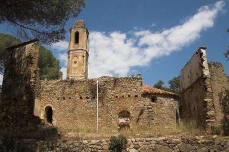 Vallgorguina conjunt arquitectònic de Santa Eulàlia de Tapioles