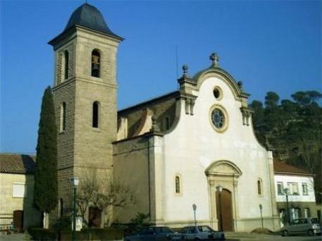 l'església de Sant Marc de Viladomiu Vell