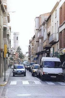 Carrer Major de Vilanova del Cami