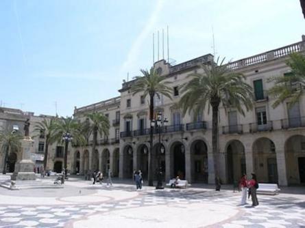 Plaça de la Vila de Vilanova i La Geltru
