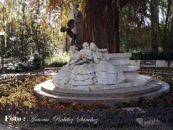 La Glorieta de Bécquer, Parque Mª Luisa ,Sevilla