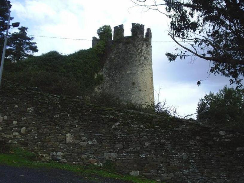 Fortaleza Sarriana, que formaba parte de la muralla exterior