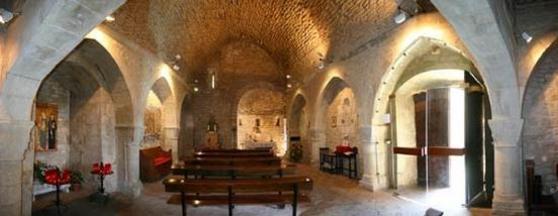 Interior del Castell de Santa Oliva