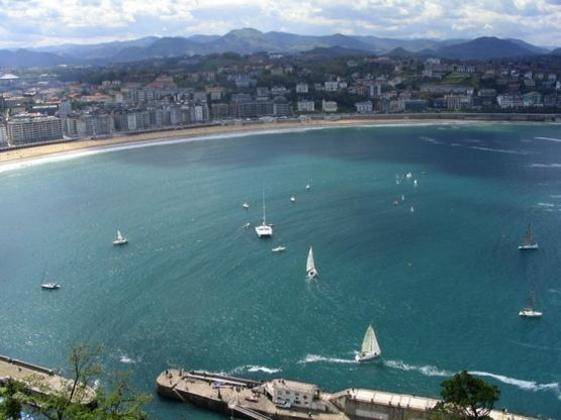 San Sebastián  Bahía de la Concha