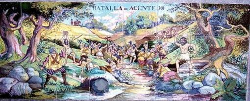 Mural de La Batalla de Acentejo