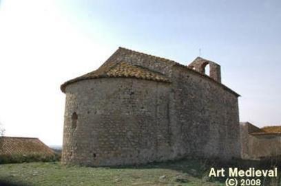 Sant Romà de Delfià, San Román de Delfia, girona