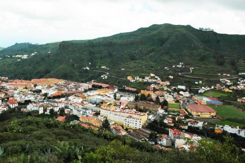Vista de La Vega de San Mateo