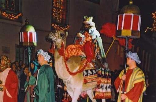 Cabalgata de los Reyes en Garachico
