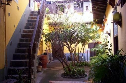 Interior de casa canaria en Garachico